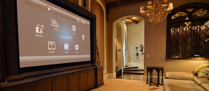 CONTROL4 PUTS AUDIO POWER IN THE PALM OF THE HAND: florida, miami, smart-home-stories,