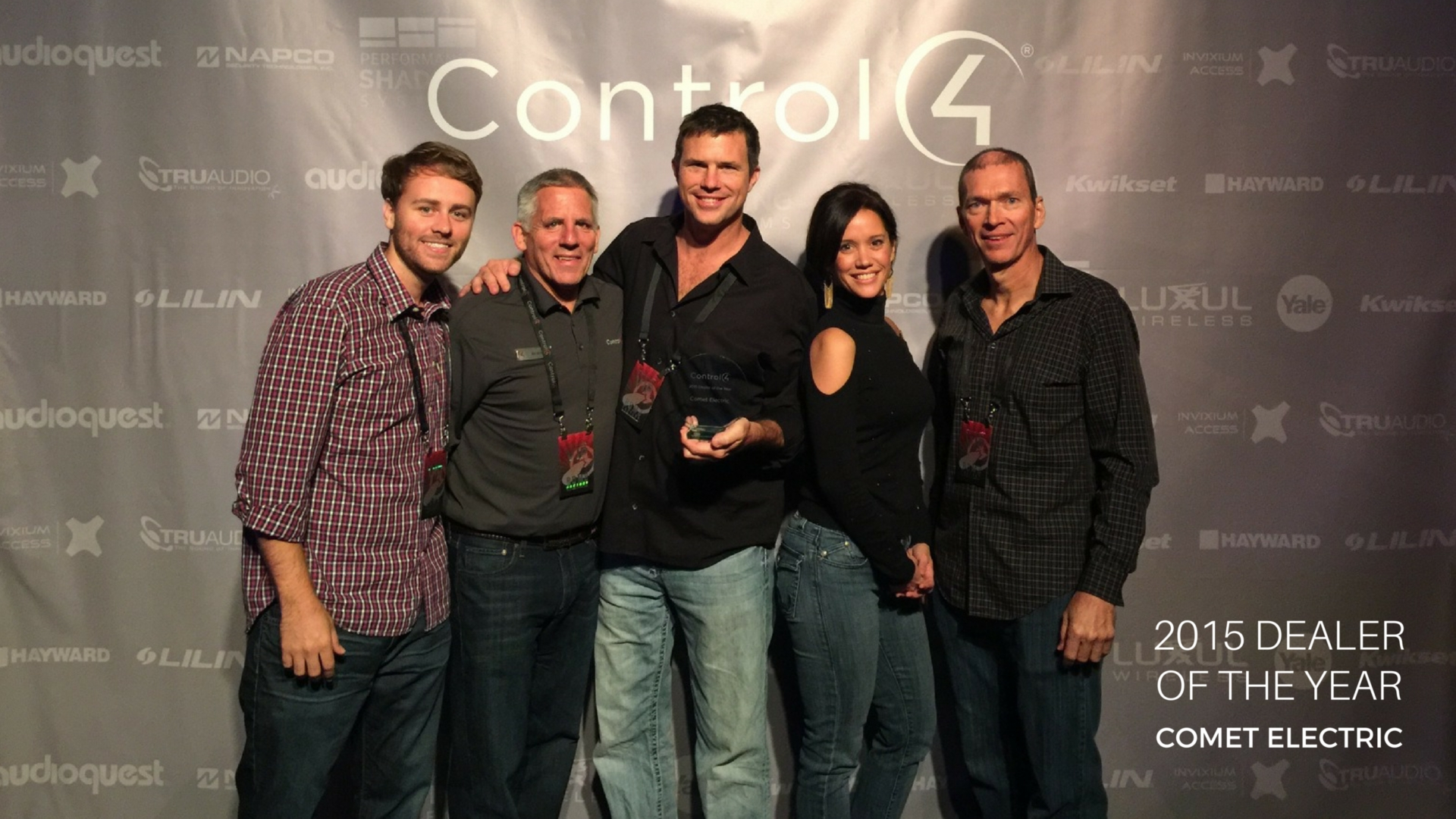 Control4 Celebrates Another Year of Dealer Growth with 2015 Dealer Awards of Excellence: cedia, cedia 2015, control4 dealers,