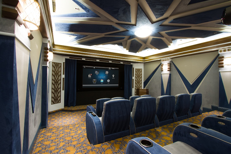 Automation Tips for 3 Distinctive Home Theater Setups: audio/video, home theater, lighting, man cave,