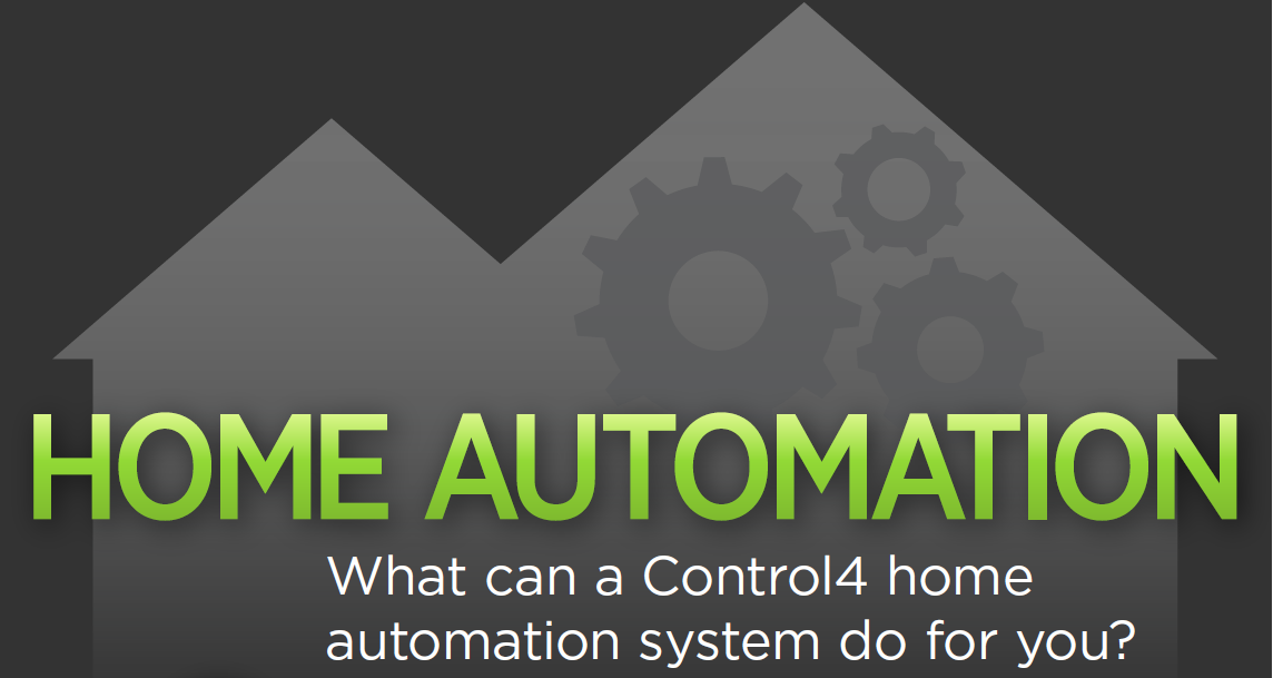 What Can a Control4 Home Automation System Do For You? [INFOGRAPHIC]: anywhere access, audio/video, climate, communication, infographic, smart lighting,