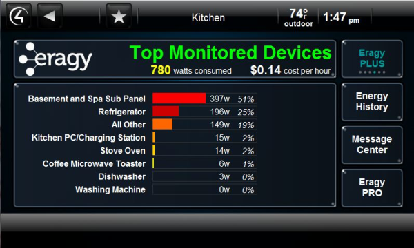 A case study in home energy savings high def tech control 4 canada - Home automation energy saving ...