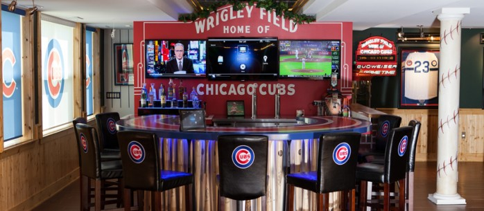 The Ultimate Automated Man Cave for the Sports Enthusiast