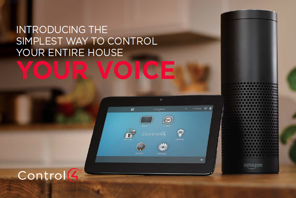 VOICE: THE NEWEST INTERFACE FOR YOUR SMART HOME: amazon alexa, amazon echo, voice control,