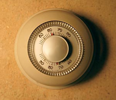 Image result for old thermostat