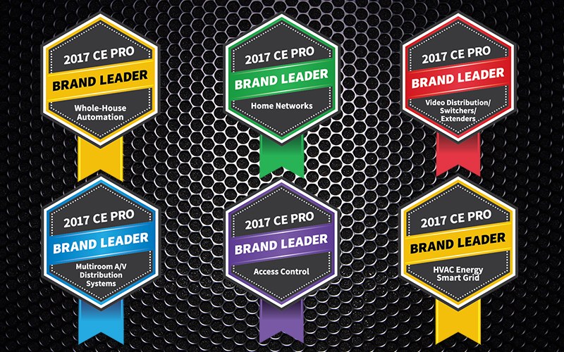 CONTROL4 NAMED LEADING HOME CONTROL BRAND FOR 3RD YEAR IN A ROW: