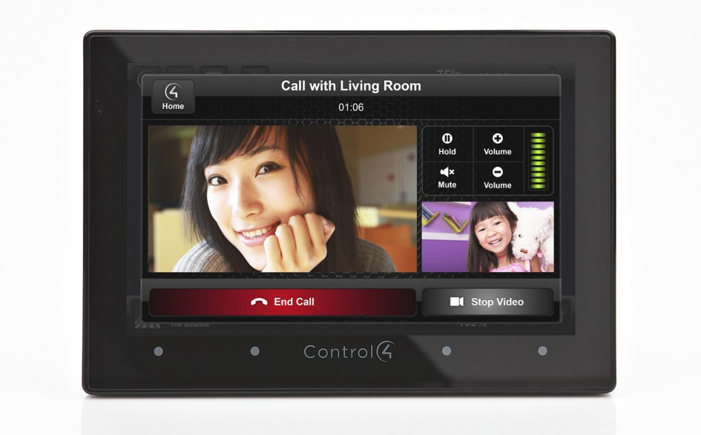 Control4 Touch Screen with Video