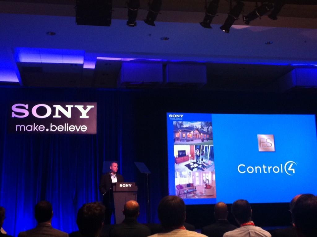 Control4 Sony Partnership