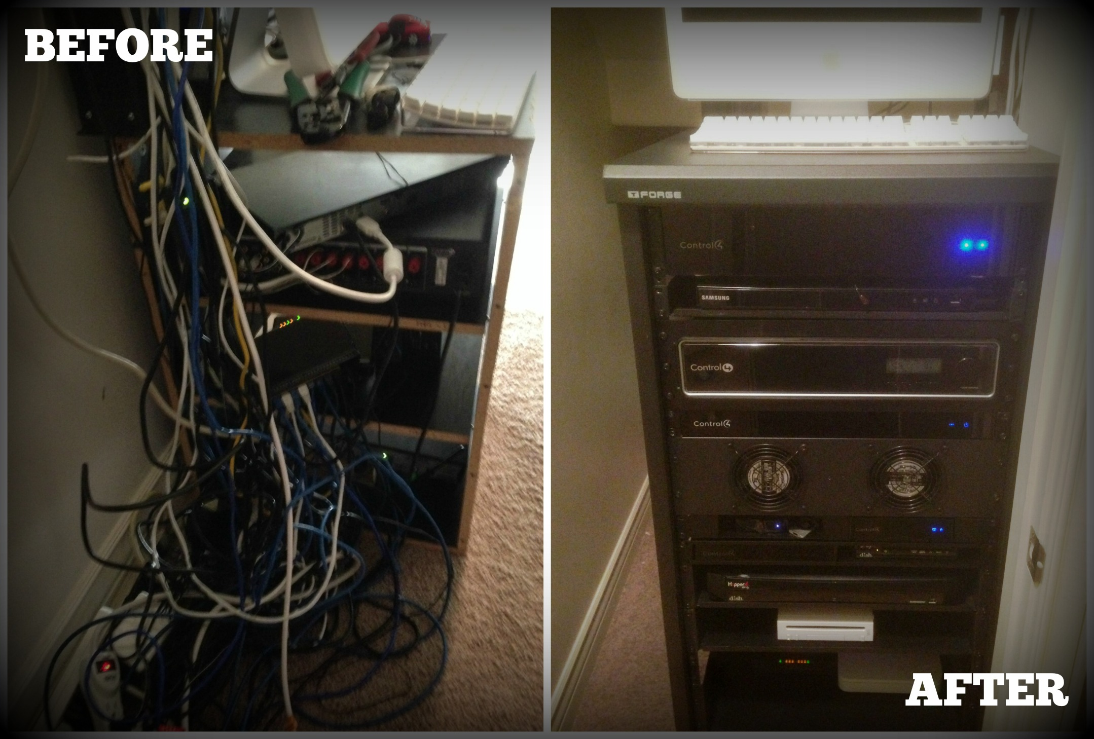 That's One Hot Rack! | Home Automation Blog