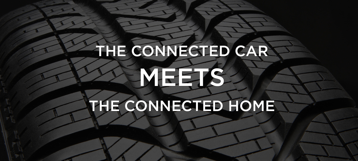 The Connected Car Meets the Connected Home: connected car, smart car, technology,