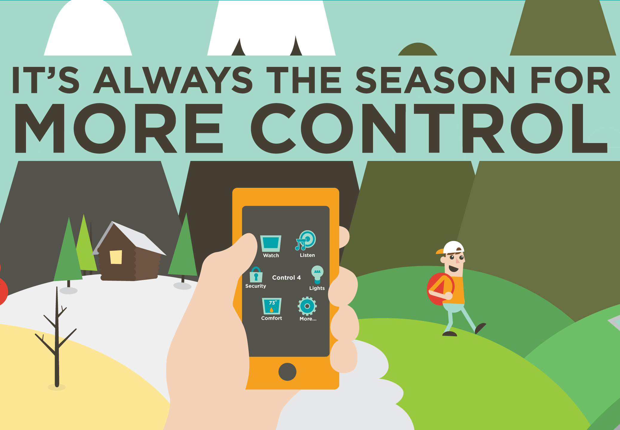 It's Always the Season for More Control: for fun, seasons, smart home,