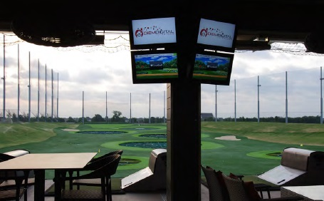 TopGolf controlled by Control4