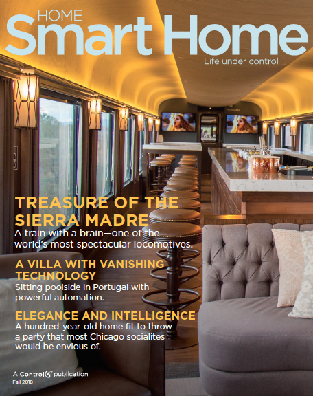 HOME SMART HOME: FALL 2018 ISSUE NOW AVAILABLE (FREE DOWNLOAD