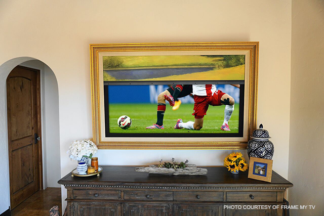 Five innovative ways to disguise your television | Home Automation Blog