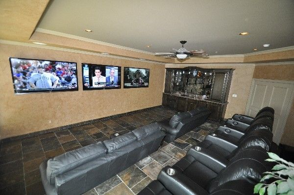 Control4 Home Theater System