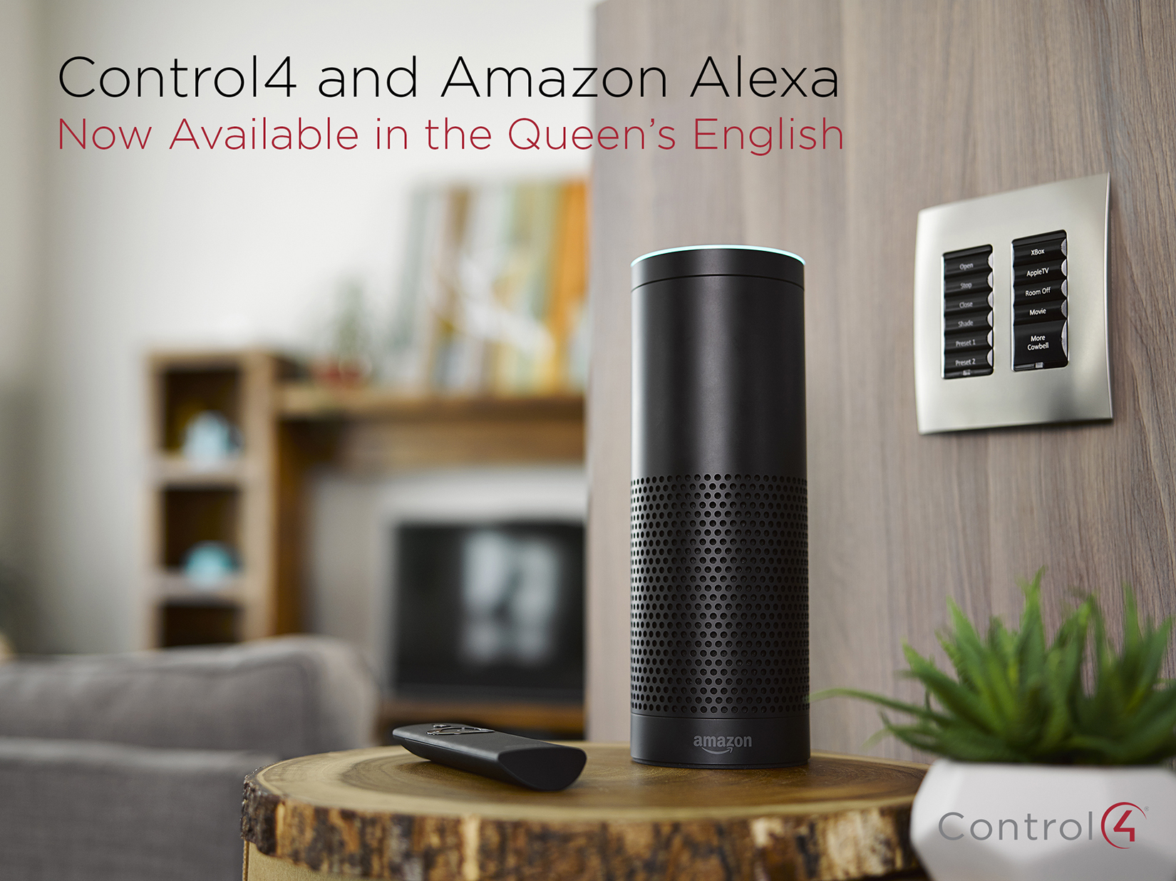 """Alexa, Turn on Apartment."" Introducing Whole-Home Voice Control for the UK.: amazon alexa, smart home, voice control,"