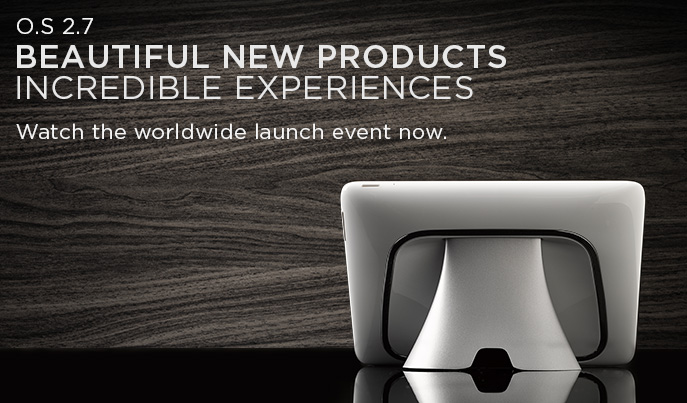 Watch the Worldwide Launch Event!: comfort, convenience, entertainment, ise, launch event,