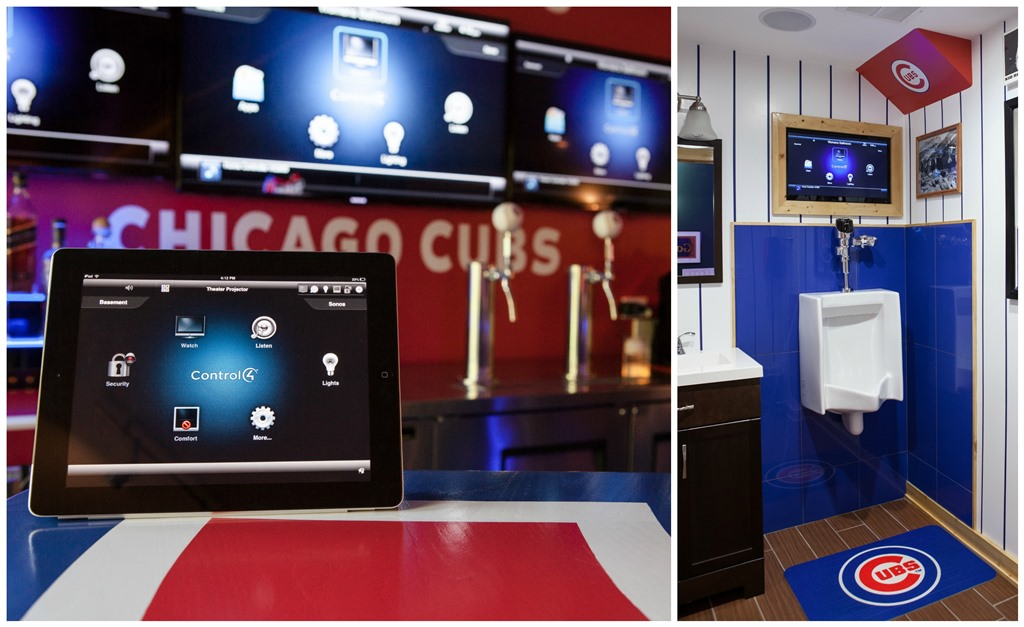 Out Of This League An Incredible Cubs Man Cave Home