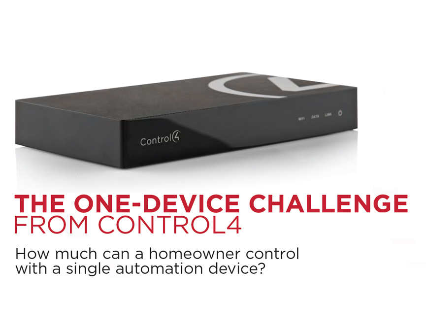 The One Device Challenge: hc-250, home automation, internet of things, smart home,