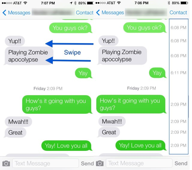 Gadget guy ios 7 review home automation blog imessage timestamp altavistaventures Choice Image